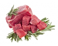 Grass Fed Diced Beef Steak